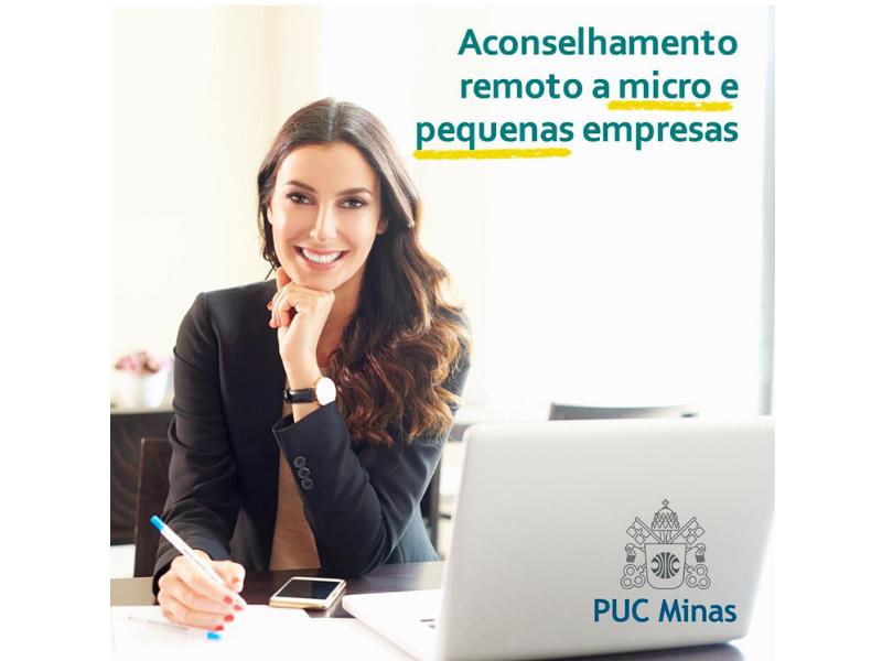 Parceria PUC Minas e CDL Betim, através da Incubadora Ideias, oferece assessoria online para associados