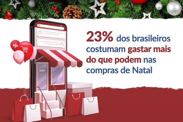 26% dos brasileiros que pretendem ir às compras no Natal possuem contas em atraso, apontam CNDL/SPC Brasil