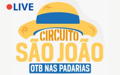 Agenda: 'OTB Nas Padarias' realiza live do Circuito São João