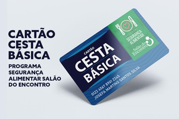 COMUNICADO – NOVO CARTÃO CESTA BÁSICA