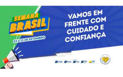 Semana Brasil acontecerá de 3 a 13 de setembro em todo o país